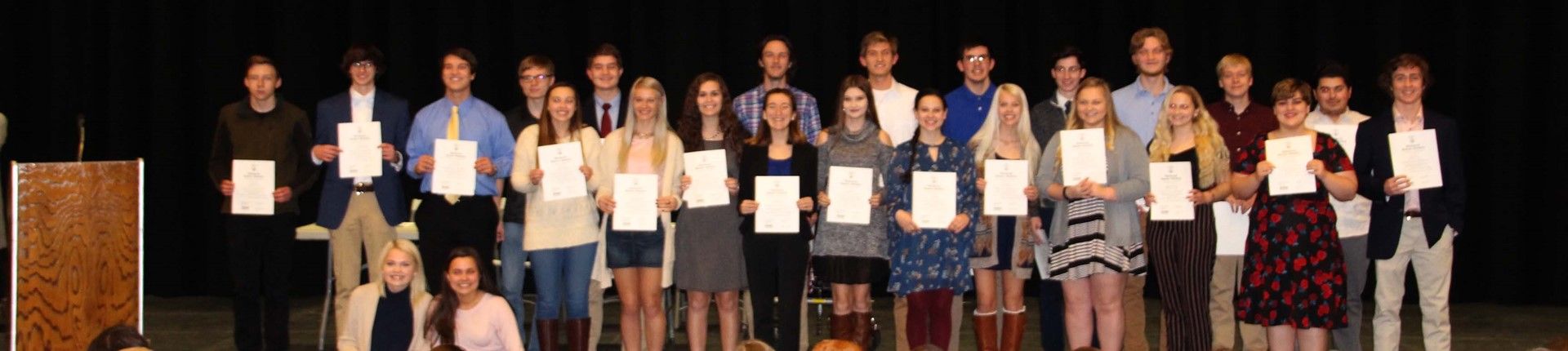 National Honor Society Initiates