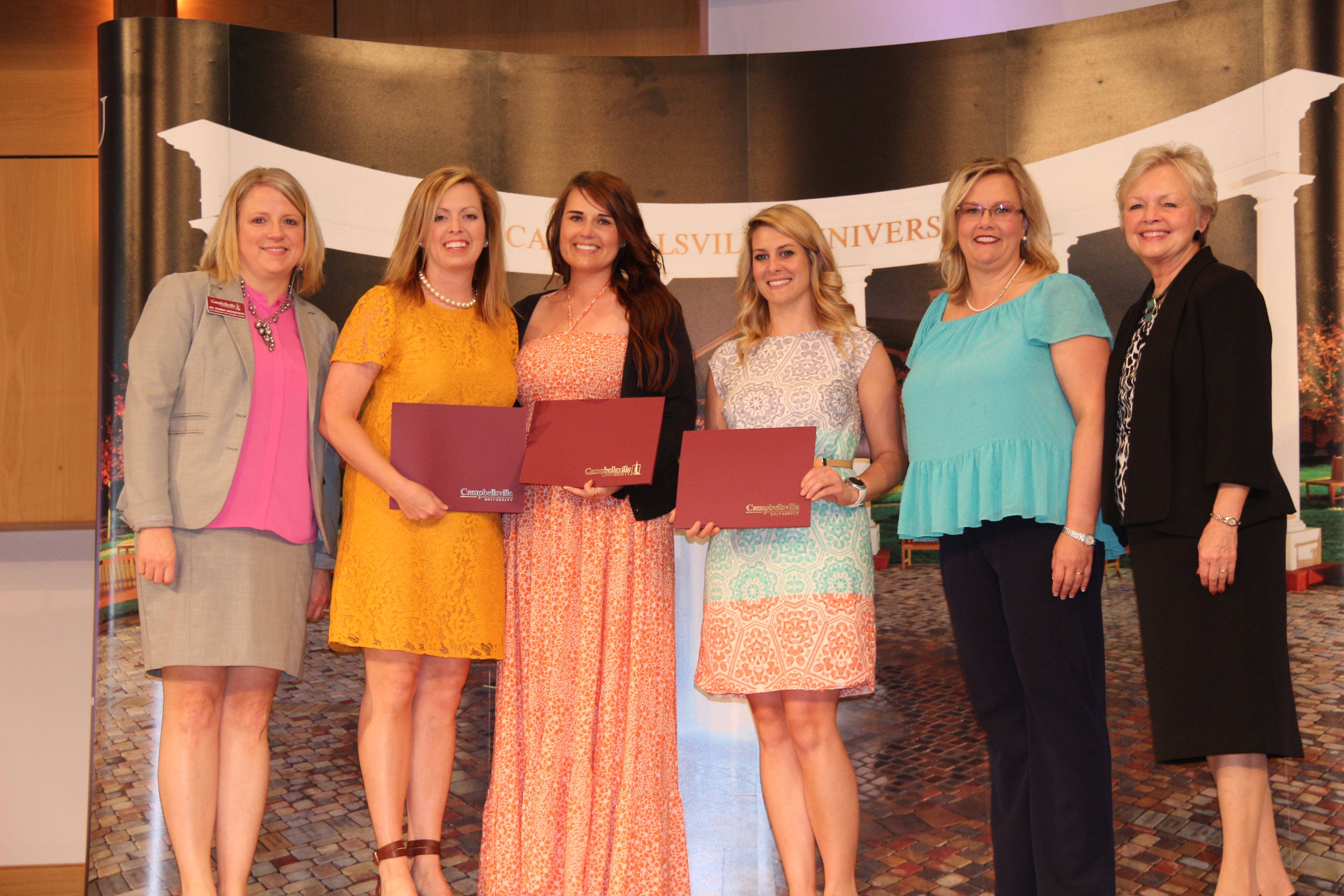 Bourbon County Teachers Honored 2017
