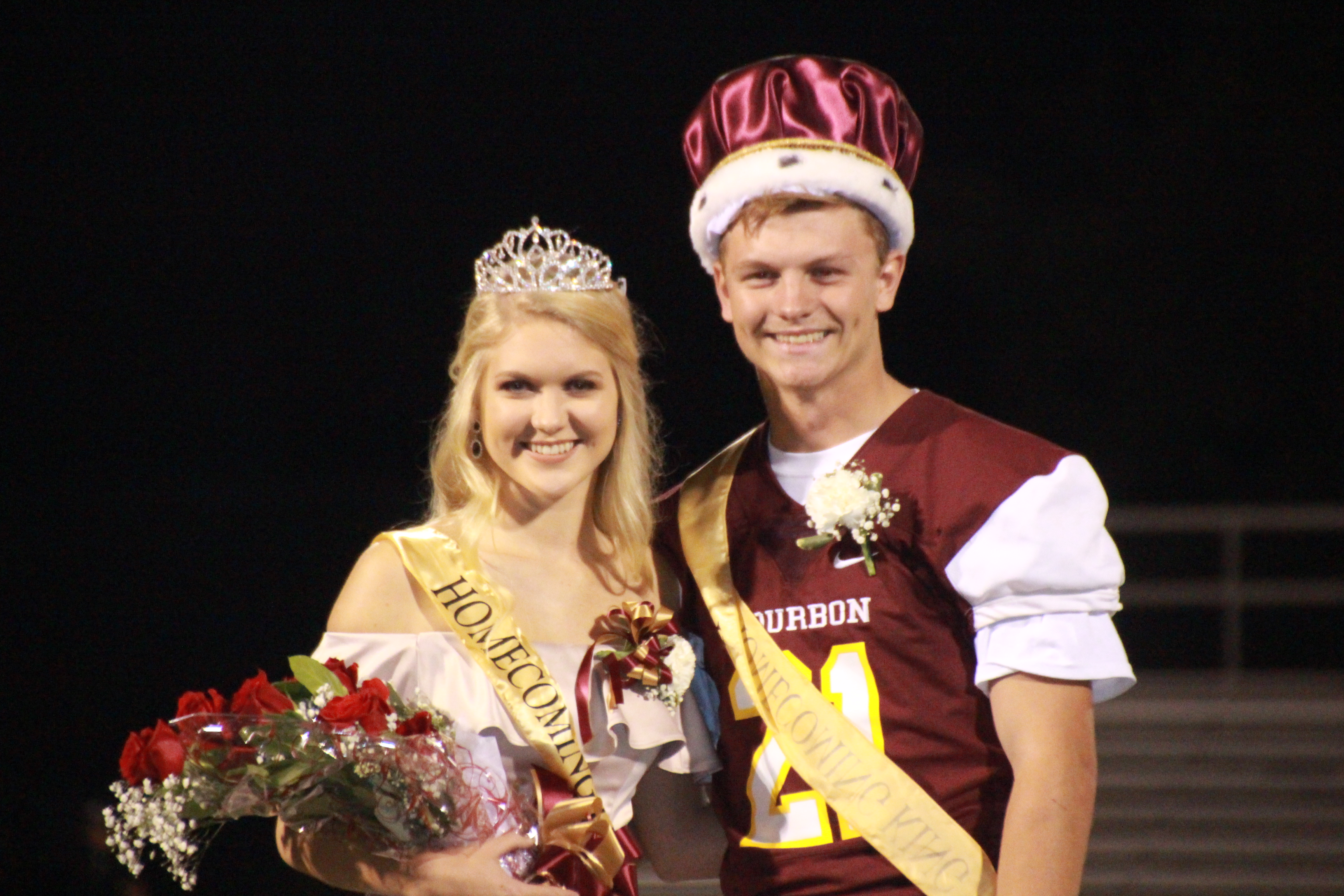 2017 Homecoming King and Queen