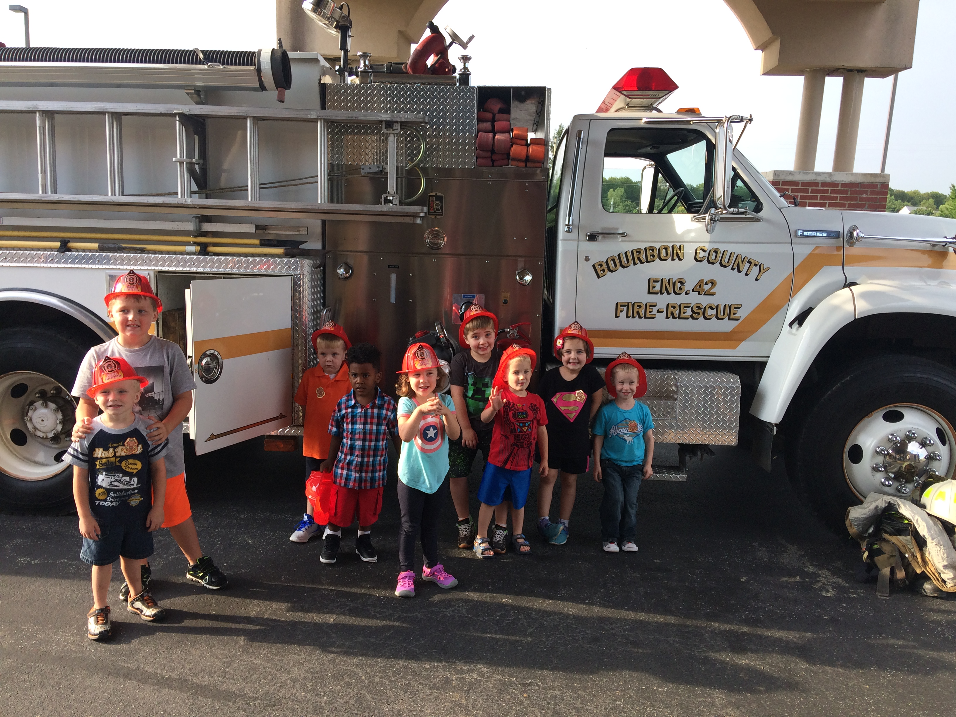 Preschool Fire and Pedestrian Safety