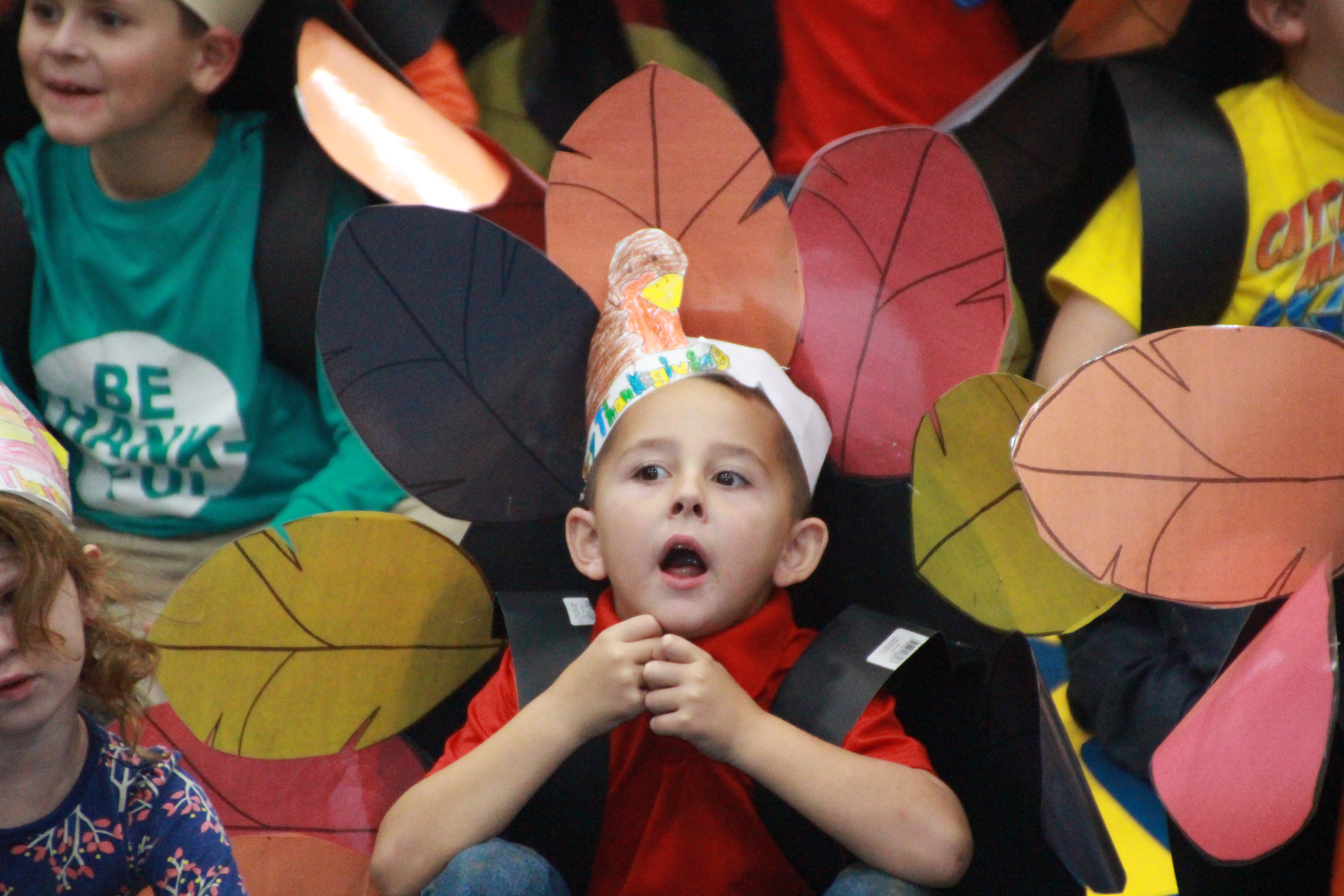 Cane Ridge First Graders Thanksgiving Program