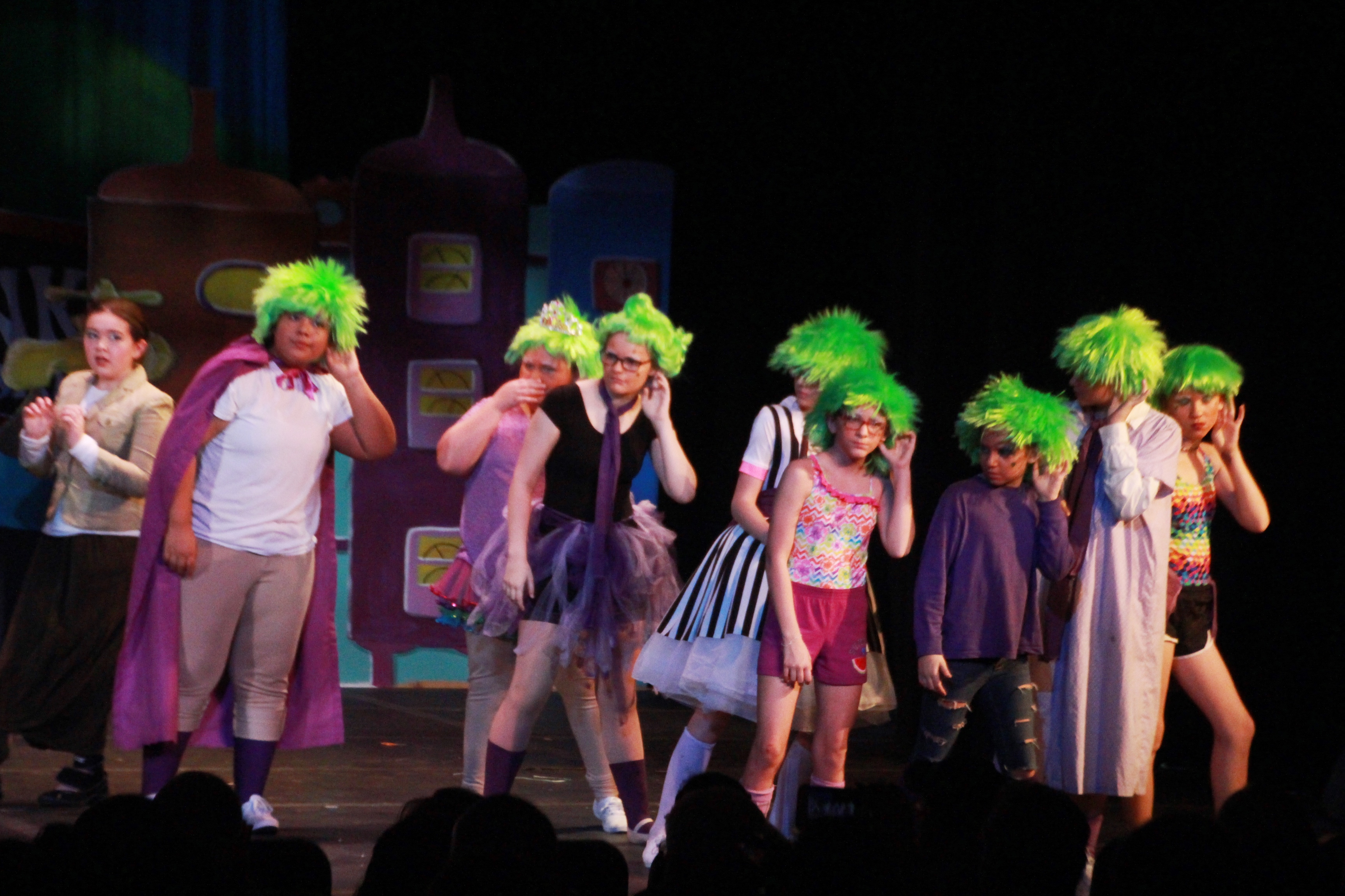 Bourbon County Middle School Presents Willy Wonka Jr.