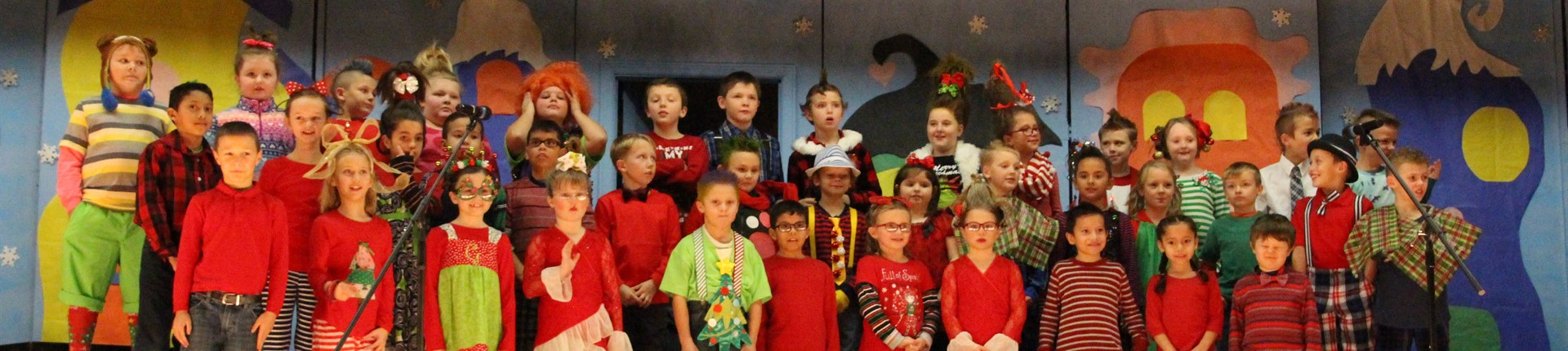 "North Middletown Elementary Christmas Program ""Grinch"""