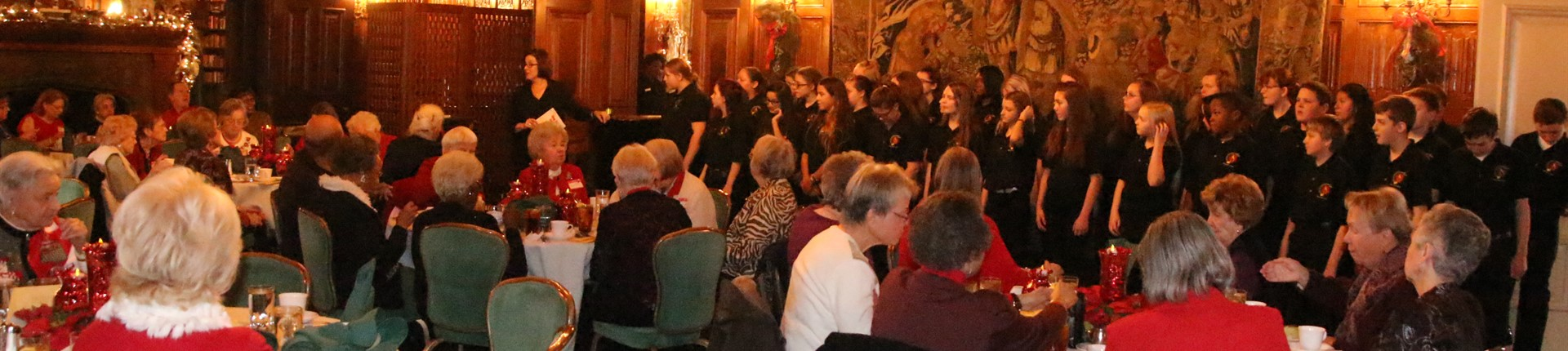 Seventh Grade Chorus Sing For Kentucky Retirees Association