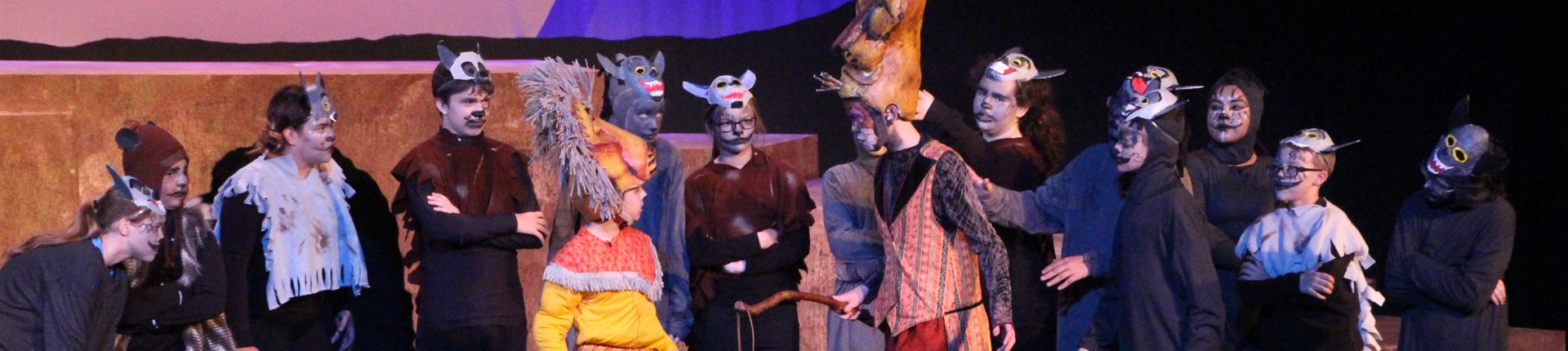 Bourbon Middle School Lion King Play