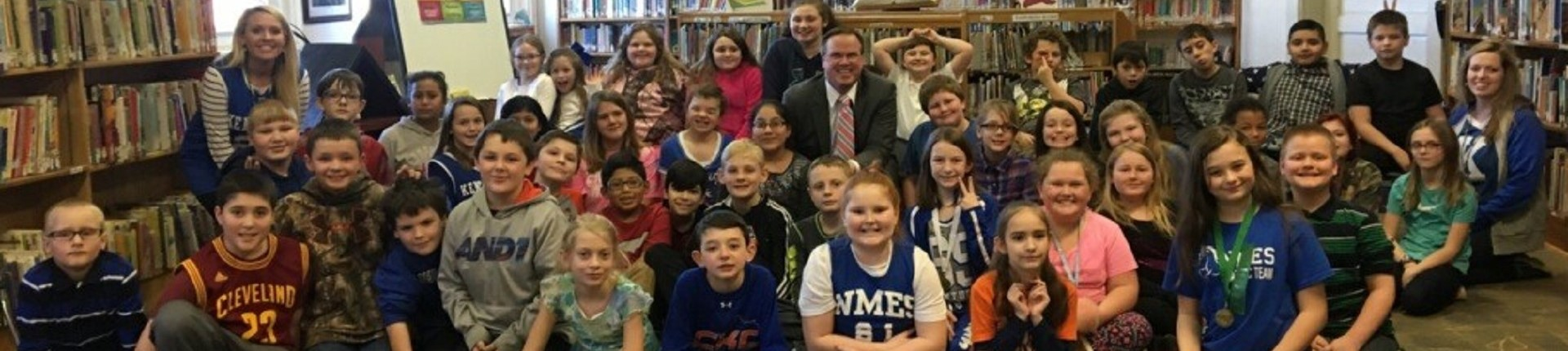 Bill Meck visits NMES for Weather 101
