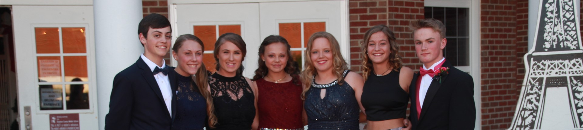 "8th Grade Dance- ""A Night in Paris"""