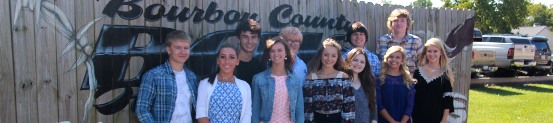 Bourbon County High School Homecoming Court