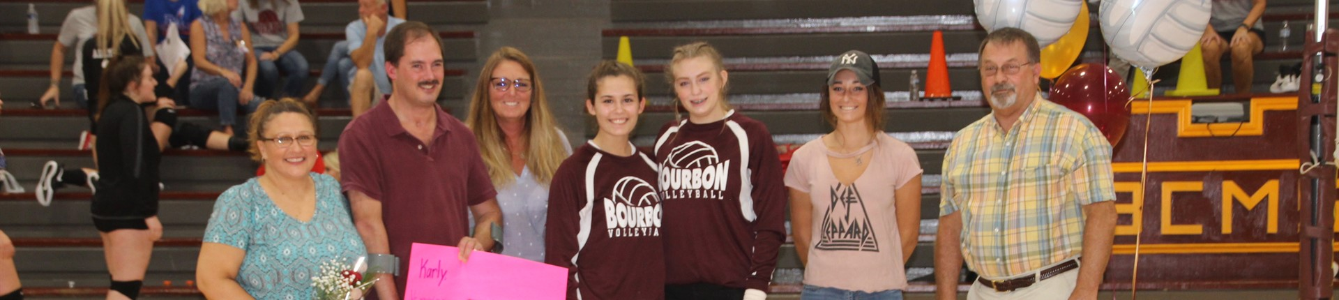 BHS Volleyball Senior Night
