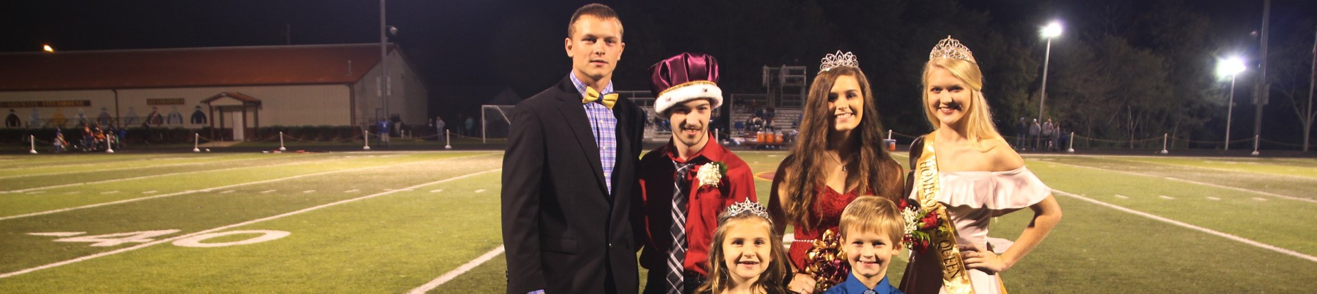 Homecoming King and Queen, Donovan Hollar and Karly Black