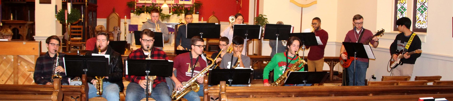BHS Jazz Band Perform at Episcopal Church