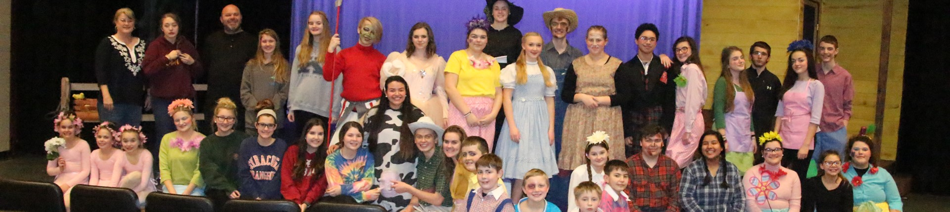 "Cast of Bourbon County High School Drama Department ""Wizard of Oz"""
